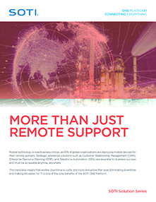 More Than Just Remote Support brochure