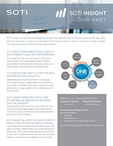 SOTI Insight Data Sheet