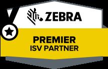 Zebra Premier ISV Partner logo